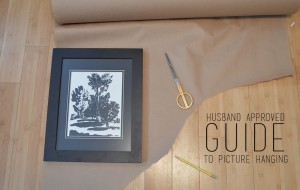 Husband Approved Guide to Picture Hanging -