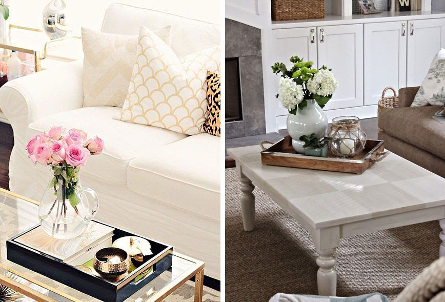 Five Tips for Coffee Table Styling