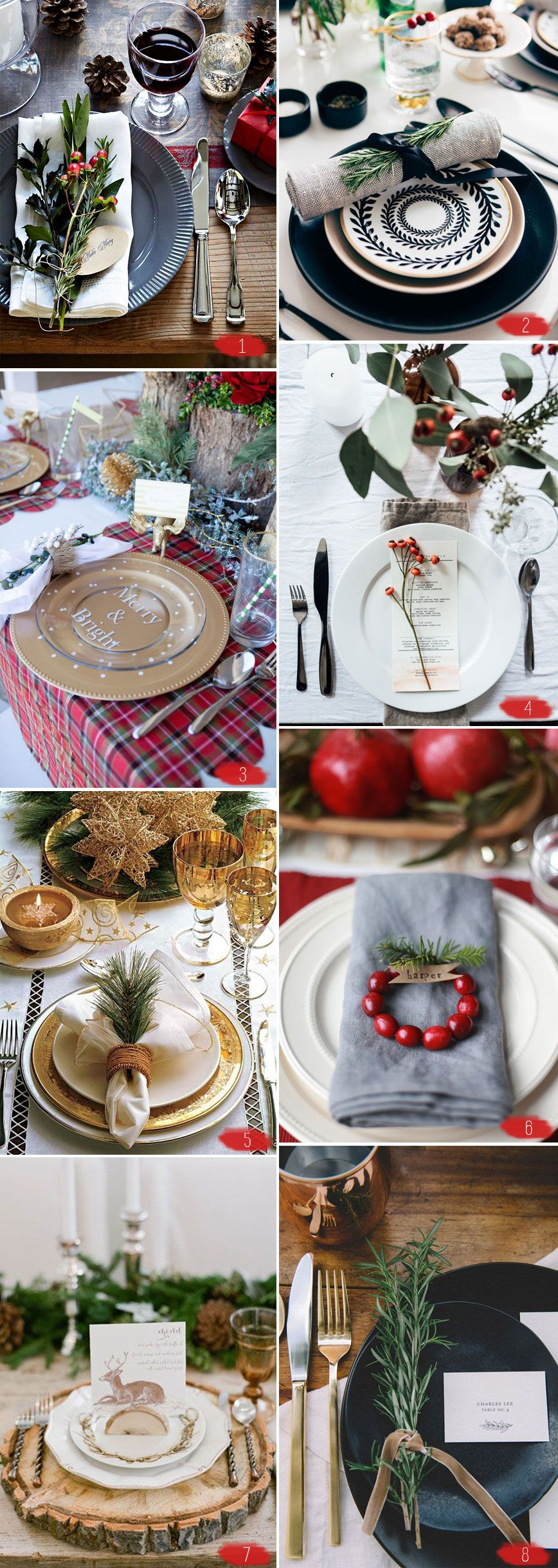 Holiday-Table-Settings