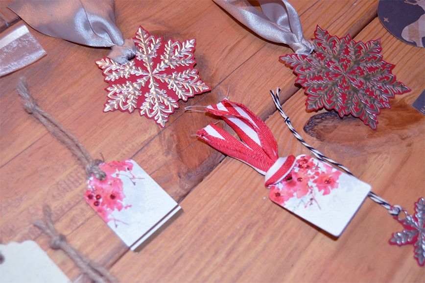 Upcycled Gift Tags from Christmas Cards